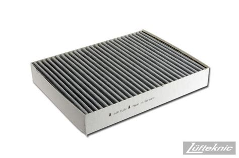 Cabin Filter Purpose by Cabin Air Filter Porsche Cayenne 2011 2014 Lufteknic