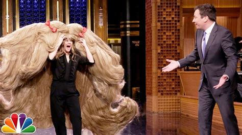 Worlds Largest Public Hair | drew barrymore breaks guinness world record by wearing the