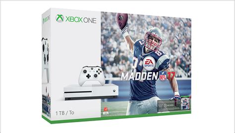 madden 17 xbox one 1tb and 500gb xbox one s bundles arriving aug 23 with