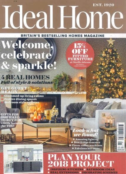 home magazine subscriptions ideal home magazine subscription