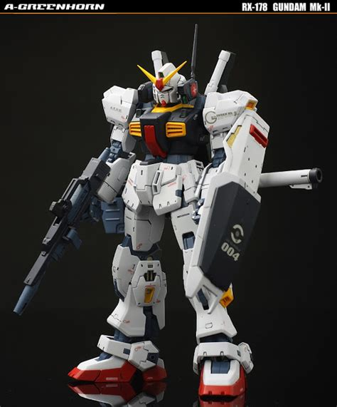 Rg 1 144 Gundam Mk Ii A E U G gundam rg 1 144 gundam mk ii a e u g w g defenser flying armor painted build