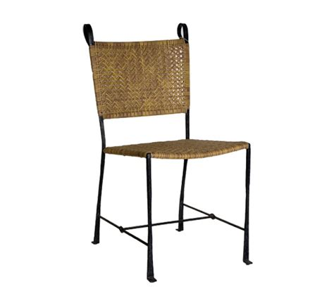 Indoor Wicker Dining Chairs Petal Side Chair Dining Chairs Style Indoor Furniture The Wicker Works