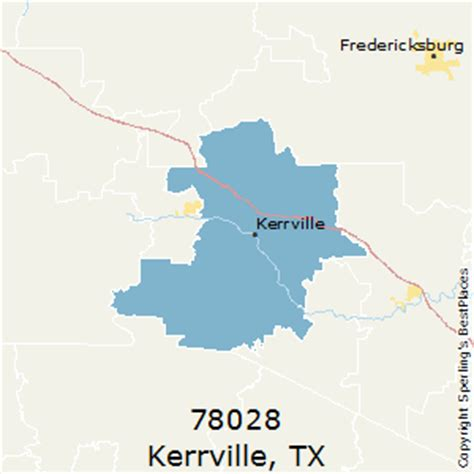 best places to live in kerrville zip 78028 texas