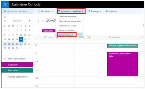 Calendrier Gmail Dans Outlook Partager Des Agendas Entre Outlook Et Gmail Je Me Forme