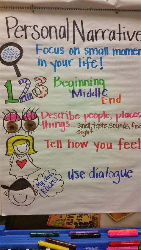 biography anchor chart fifth grade ideas pinterest 9 must make anchor charts for writing narrative anchor