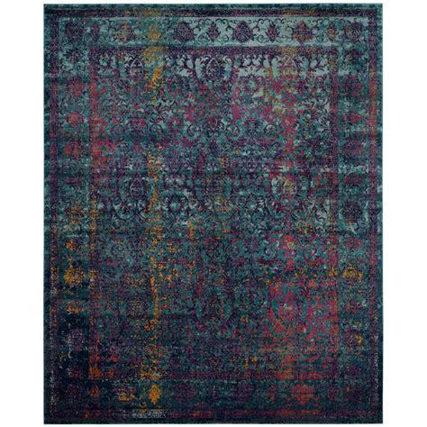 granada rug safavieh granada blue multi 9 ft x 12 ft area rug gra351c 9 the home depot
