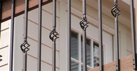 railing balusters fortress railing