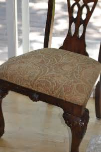 Reupholster Dining Chair Fabric Room Decor How To Reupholster A Dining Room Chair With Fabric Back