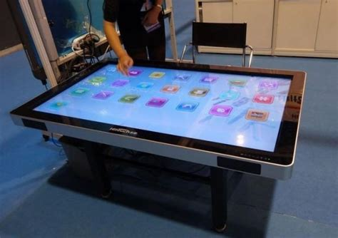 interactive touch table 42 multi touch screen table