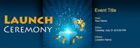 Free Launch Ceremony invitation with India?s #1 online tool