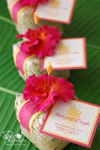 Favors Hawaii by Dk Designs Tropical Wedding Favors