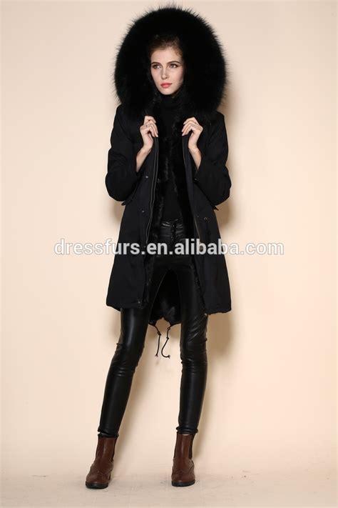 Green Jacket Parka Korean Sk 116 black faux fur parka wear parka in snowy