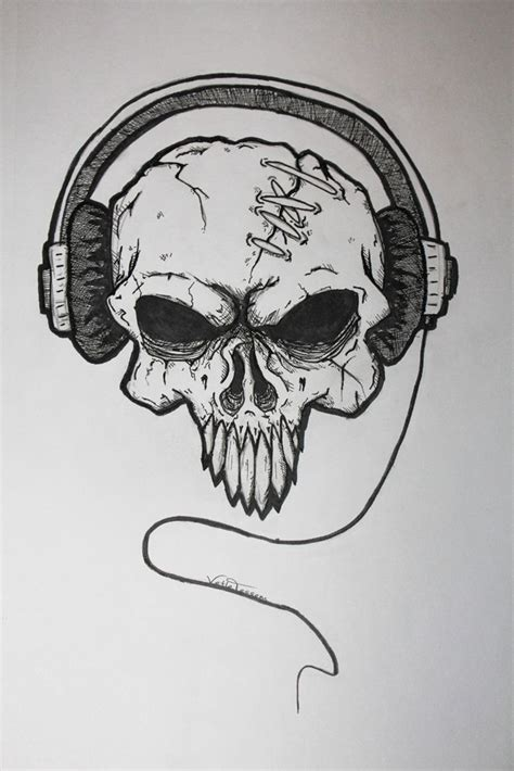 badass tattoos drawings note badass skulls skull