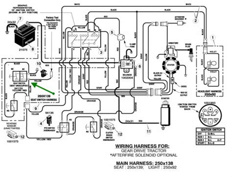 deere sabre lawn tractor solenoid wiring diagrams