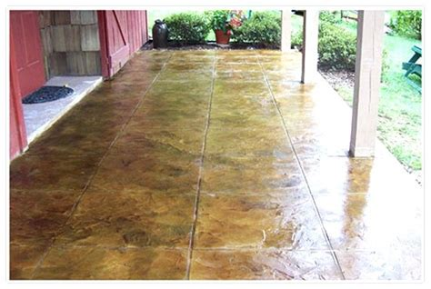 Staining Patio Pavers 1000 Images About Patio On Patio Stained Concrete And Concrete Pavers