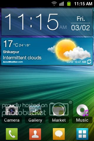 widgets weather widget digital clock samsung galaxy s ii i9100