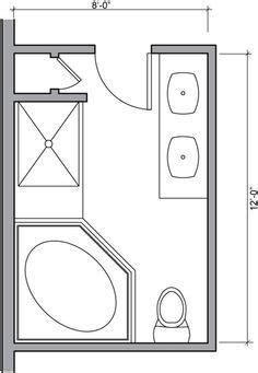 foot master bathroom floor plans walk  shower