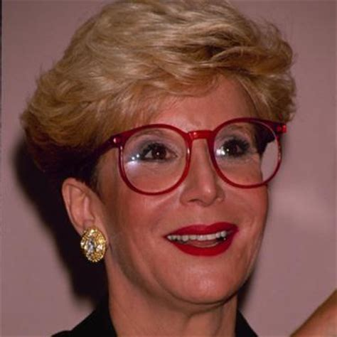 did sally jessy raphael keep wearing her trademark