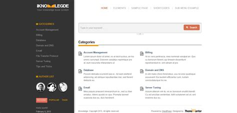 theme wordpress wiki 10 incredible knowledge base and wiki wordpress themes