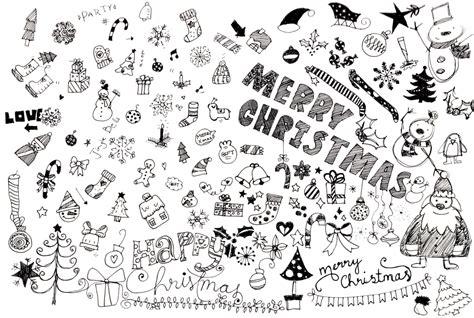 doodle zeichnen lernen die merry zeit beginnt lasst uns weihnachtsmotive