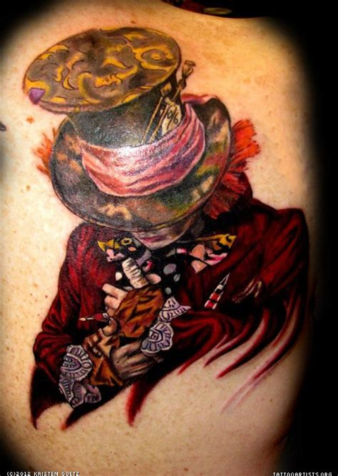 madd tattoo the mad hatter artists org