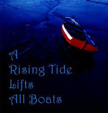 a rising tide lifts all boats significado principal le learning my journey in the evolving
