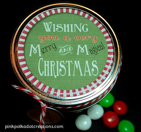 printable ord m label m m s christmas gift label pink polka dot creations