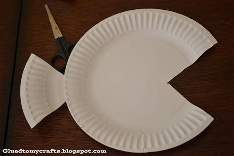 paper plate fish template redirecting