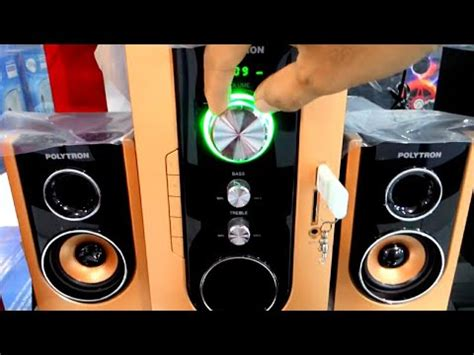 Speaker Aktif Polytron Vs Roadmaster cek sound speaker aktif new polytron pma 9300 mantap