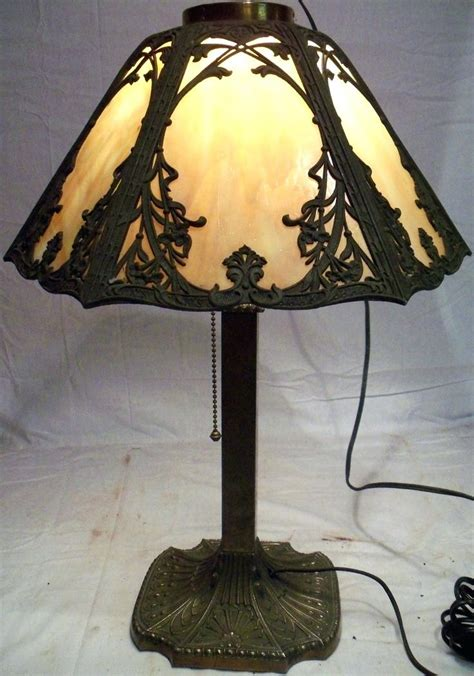 antique glass l shade replacements glass shade l blue colored glass ls