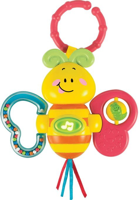 baby toys that light up and play buy winfun light up twisty rattle butterfly 549 by