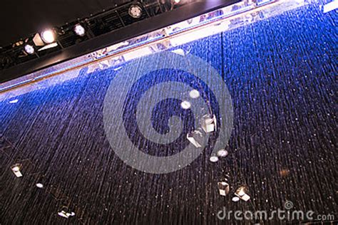 water curtain system principle water curtain system stock photo image 49159915