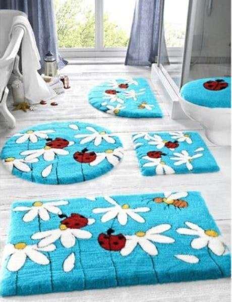 tappeti per bagno moderni tappeti per il bagno moderni e originali foto 3 10