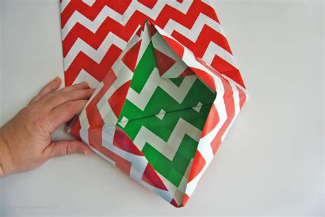 Make Gift Bags From Wrapping Paper - how to make a gift bag from wrapping paper in 5 simple steps