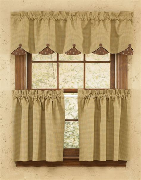 Scalloped Valance Curtains Curtains Ideas 187 Country Quilts And Curtains Inspiring