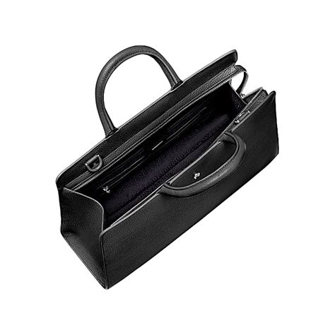 Aigner A0136 Black White cybill bag m black aigner