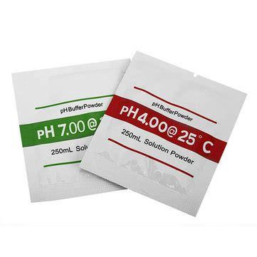 2bags ph4 00 ph7 00 buffer powder for ph test meter measure calibration solution at banggood