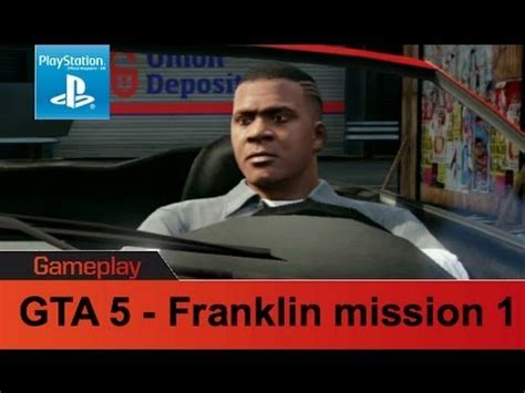 gta 5 ps3 gameplay franklin mission 1 youtube