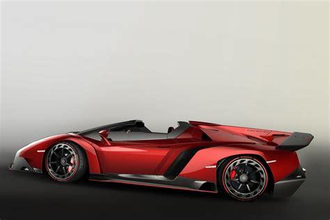 Ultra Rare Lamborghini Veneno Roadster Goes For $5.5 Million