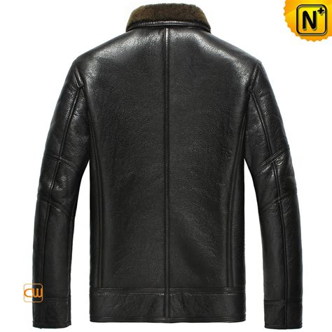 winter biker jacket winter sheepskin biker jacket for men cw865131