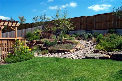 sloped backyard design ideas sloping garden design idea landscaping gardening ideas