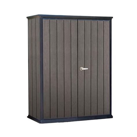 cabinet door store keter high store 4 6 ft x 2 5 ft x 5 10 ft resin vertical storage shed vertical storage
