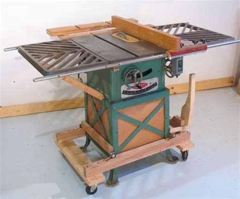 Delta Cabinet Table Saw Mobile Table Saw Base