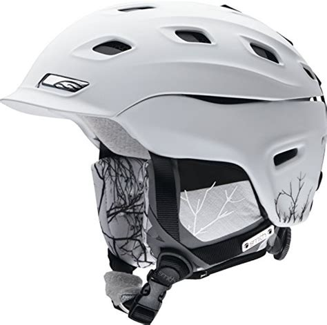 smith vantage large smith vantage snowboard helmet s white branching