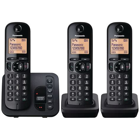 Telepon Wireless Panasonic Kx Tgb112 panasonic kx tgc223 dect staples 174