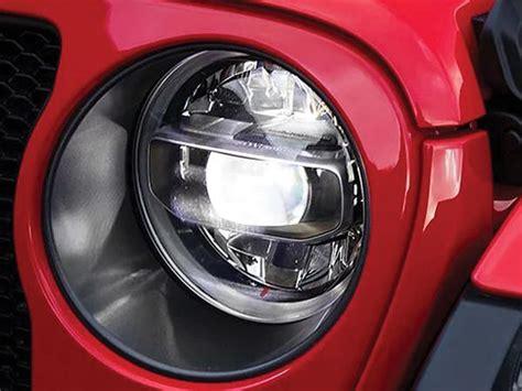 mopar led head light kit    jeep wrangler jl jl unlimited fortecx