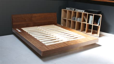 build your own bed platform bed plans popular furniture bedroom derektime