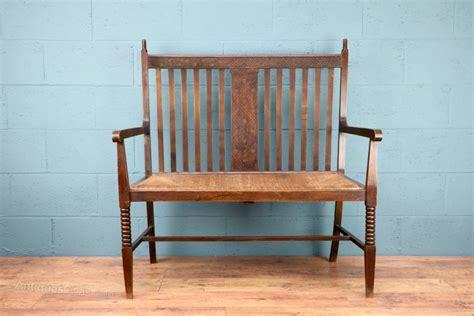 arts and crafts sofa arts and crafts oak sofa seat antiques atlas