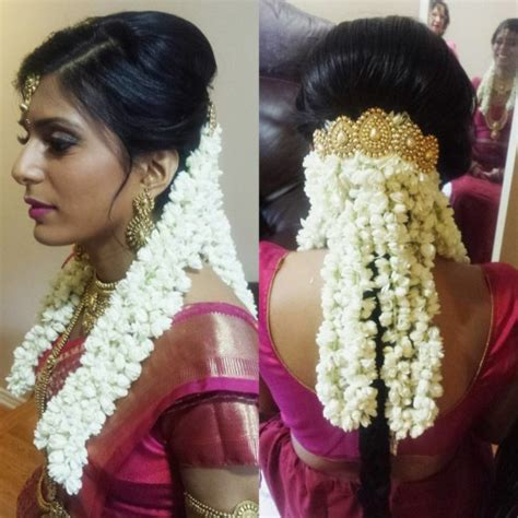 indian hairstyles with roses 17 south indian hairstyles to show off that thick long hair