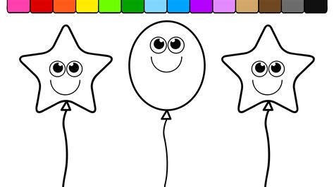 pics to color refundable picture of balloons to color coloring pages